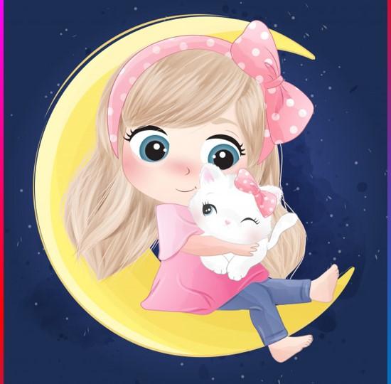 Cute Cartoon Pics For Whatsapp Dp Profile Cartoon Images For Dp 2021 Whatsapp Dp